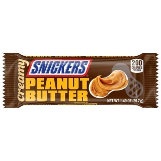 Snickers Creamy Peanut Butter 39,7g (USA)