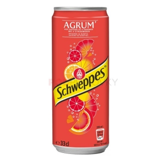 Schweppes Agrum 330ml (BE)