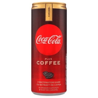 Coca Cola Plus Coffee Caramel 250ml (UA)