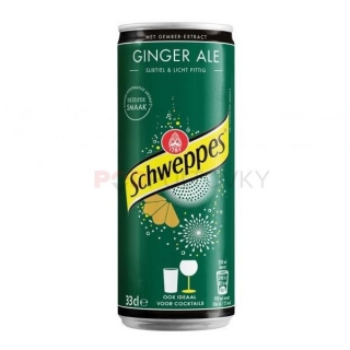 Schweppes Ginger Ale 330ml (BE)