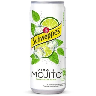 Schweppes Virgin Mojito 330ml (BE)