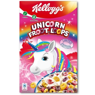 Kellogg's Unicorn Froot Loops 375g (DE)
